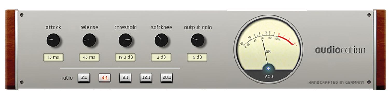 Audiocation Freeware VST Kompressor