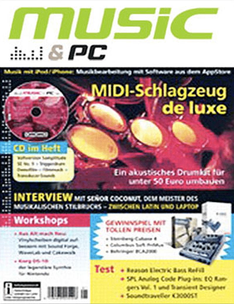 Music & PC Magazin über Audiocation Audio Akademie