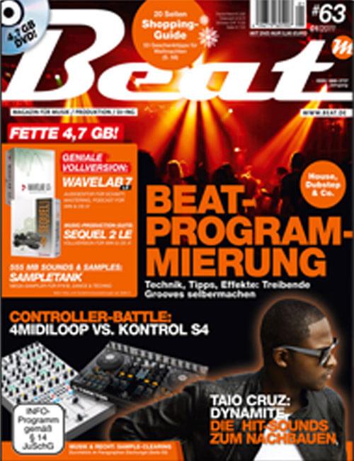 "Beat – 10/2010 Audiocation Tutorial ""Hall als Kreativeffekt"""