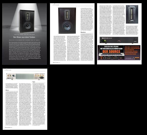 Studiomagazin über Verdade Studiomonitore