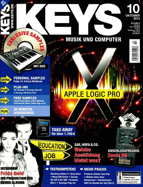 Keys Magazin über Audiocation