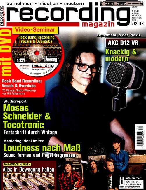 Recording Magazin über Audiocation