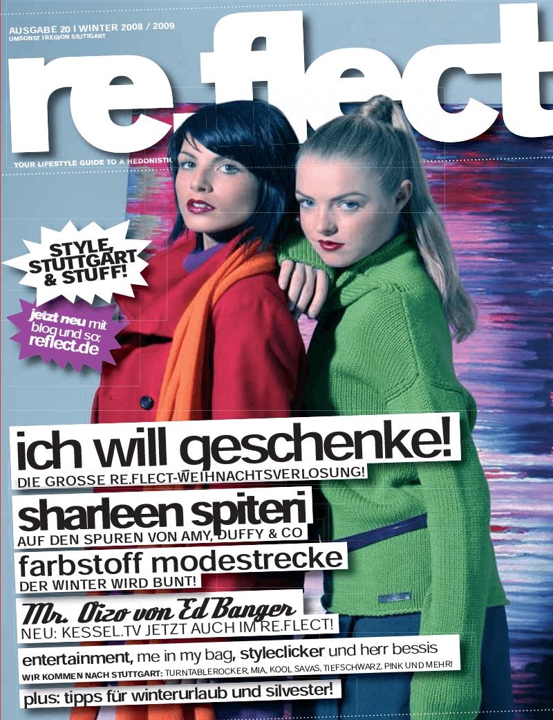 Reflect Magazin über Audiocation 01/2009