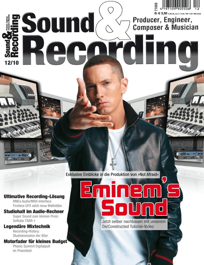 Sound and Recording Artikel von Audiocation