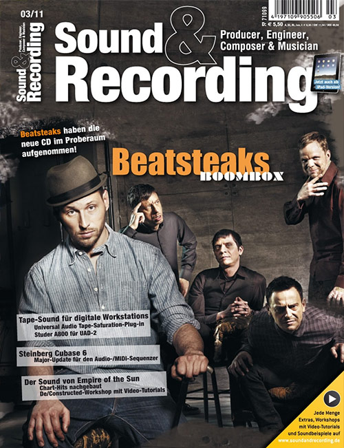 Sound and Recording Artikel von Audiocation Recoding 1x1