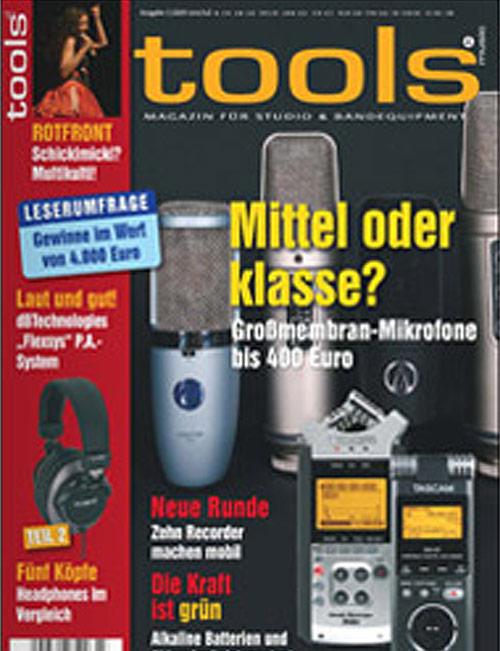 Tools – Magazin für Studio & Bandequipment