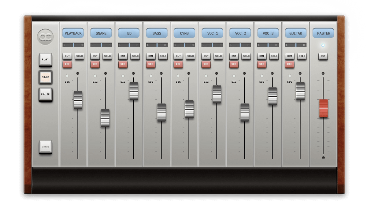 Virtual Recording Audiocation